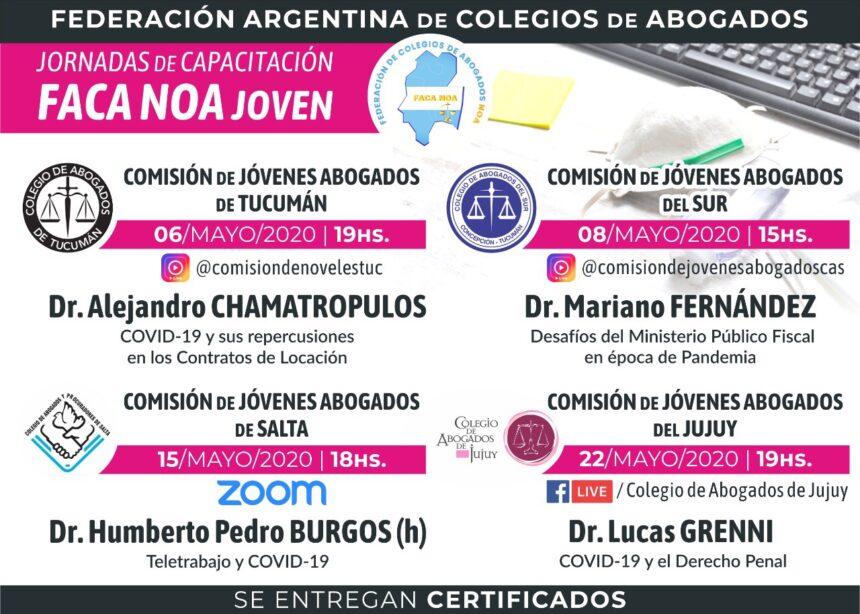 JORNADA DE CAPACITACIÓN FACA NOA JÓVENES