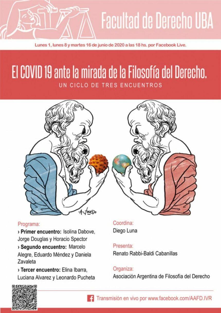 Invitación al curso: EL COVID 19 ante la mirada de la Filosofía del Derecho
