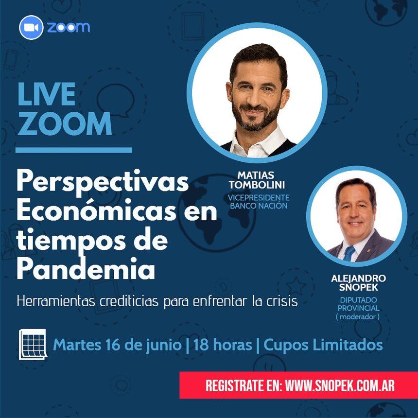 Conferencia Online: Perspectivas económicas en tiempos de pandemia