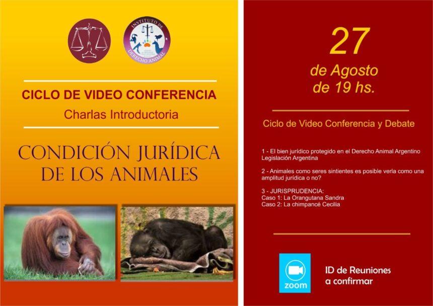 """Ciclo de conferencias """" Introducción al Derecho Animal"""""""