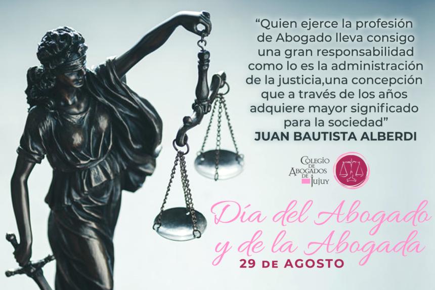 29 de Agosto: Día del Abogado y de la Abogada