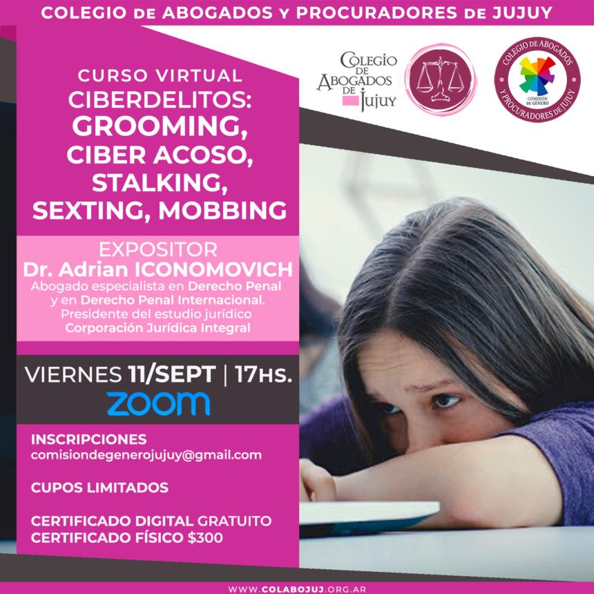 Curso virtual Ciberdelitos: 11 de Septiembre