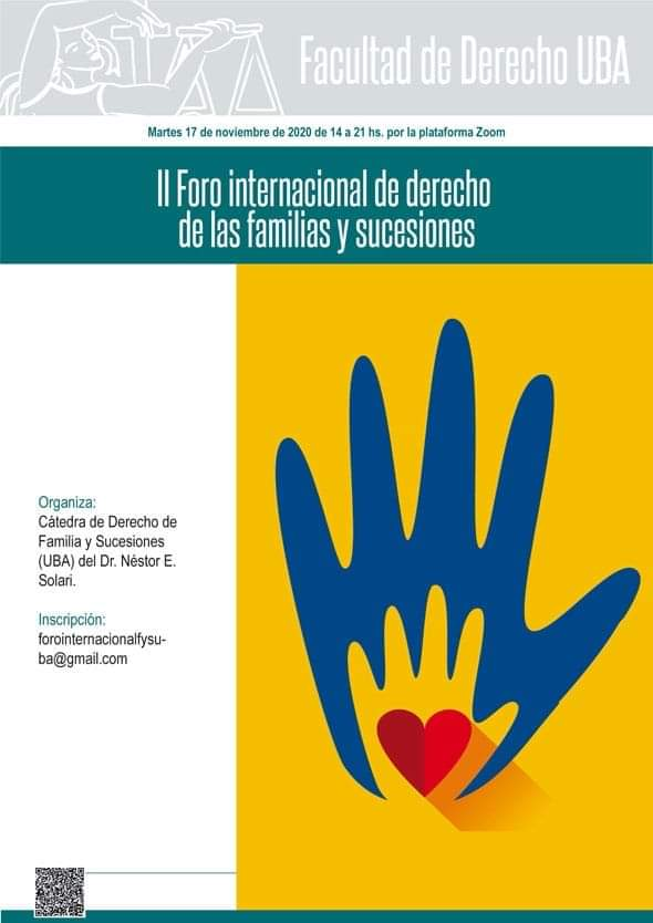 II Foro Internacional de Derecho de las Familias y Sucesiones