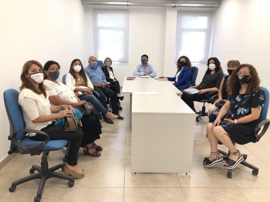 Se concretó la reunión entre las autoridades del Colegio de Abogados y de Anses- Udai Jujuy
