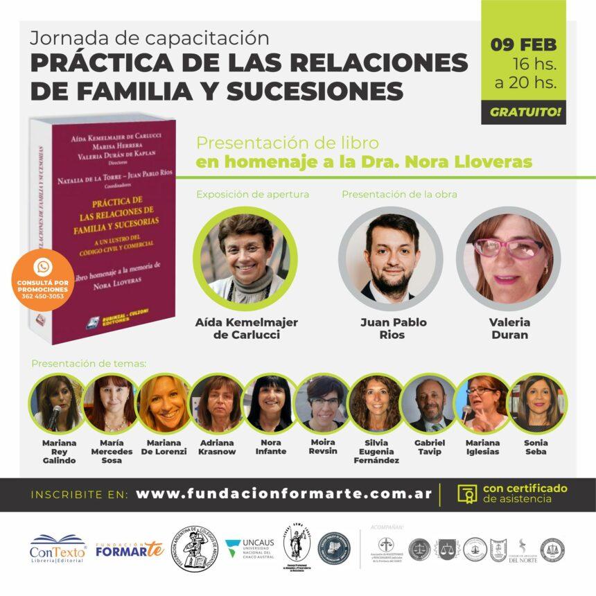 JORNADA DE CAPACITACIÓN SOBRE PRÁCTICA DE LAS RELACIONES  Y SUCESIONES