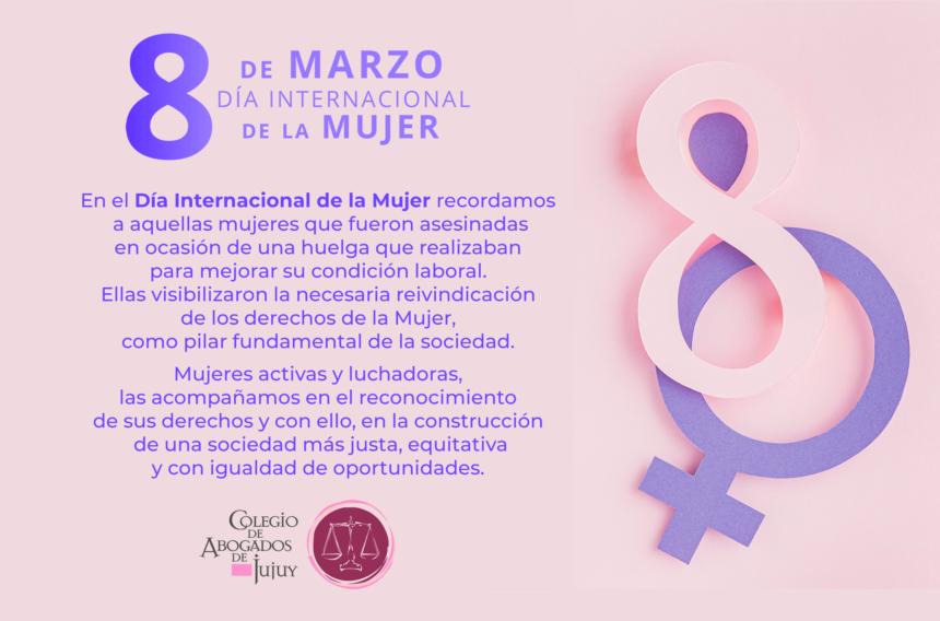 8 de Marzo: Dia Internacional de la Mujer